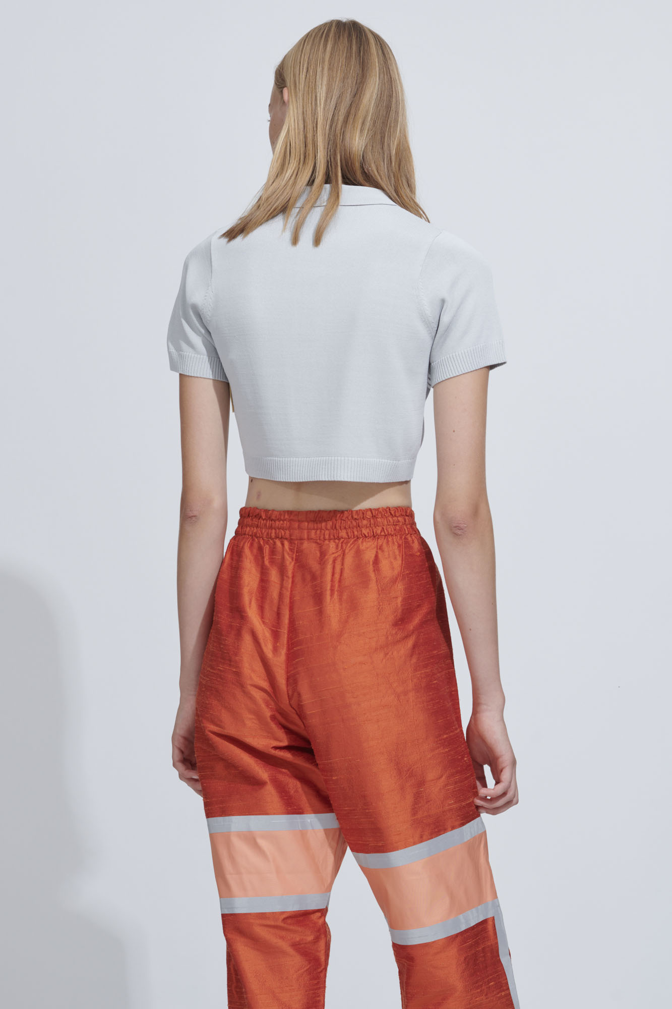 48792a12 CROPPED POLO TEE - Astrid Andersen Aps